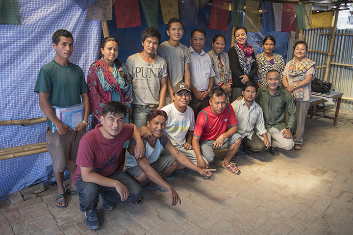 Nepal / SEEP classes at Camp Hope