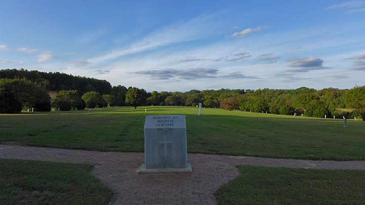 Dix Hospital Cemetery, Raleigh, NC