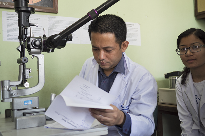 Nepal / B.P. Koirala Lions Centre for Ophthalmic Studies / Teching Hospital