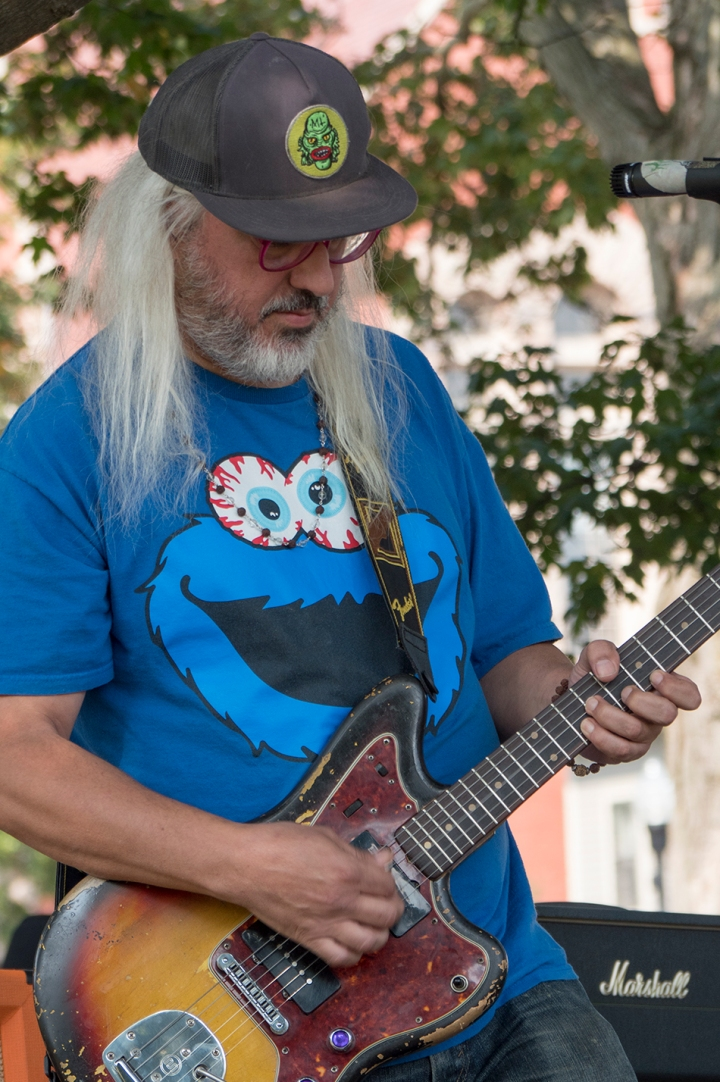 Dinosaur Jr on the Amherst Town Common